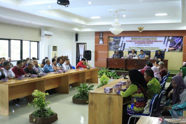 Sekda buka forum konsultasi publik