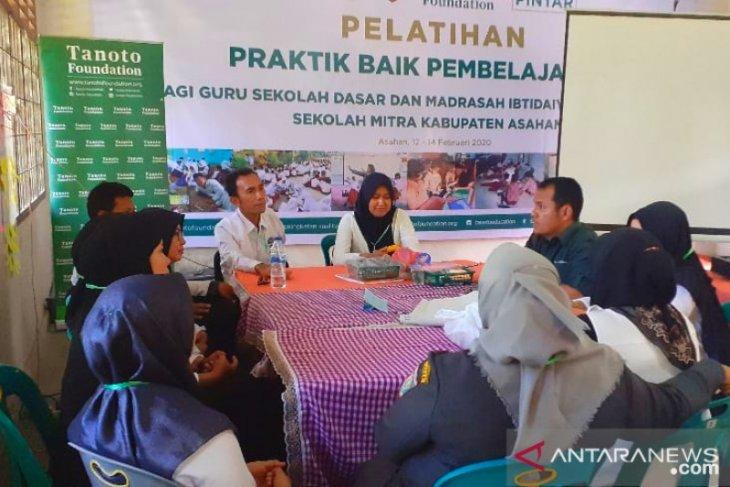 Tanoto Foundation berikan pembekalan mutu pendidikan di Asahan