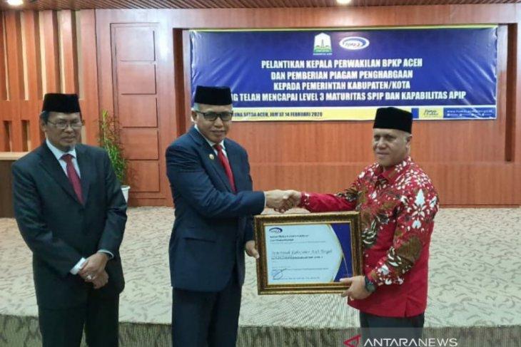 Aceh Tengah raih penghargaan level 3 maturitas SPIP