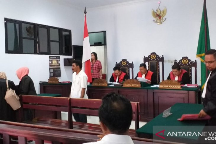 Pemilik ganja divonis dua tahun penjara