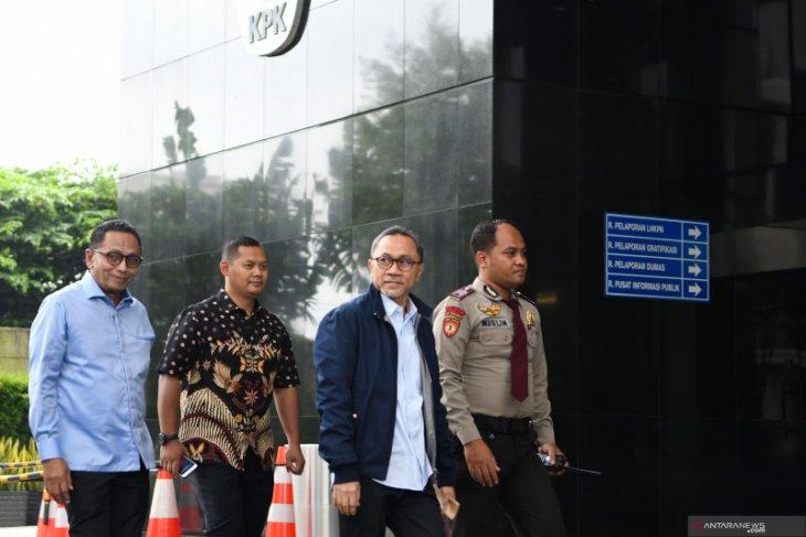 Zulkifli Hasan penuhi panggilan KPK saksi dalam penyidikan kasus suap alih fungsi hutan