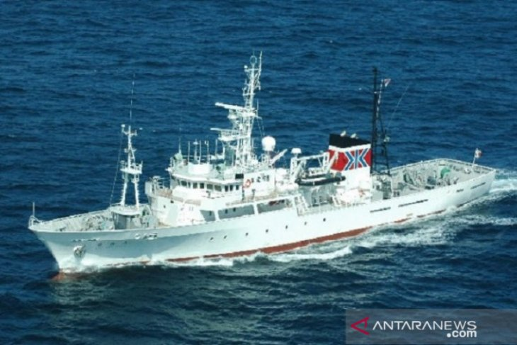 Japan hands over fishery patrol vessel to Indonesia