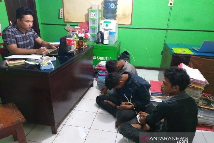 Polisi ringkus tiga warga Baganbatu Riau sindikat curanmor di Taput