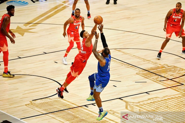 NBA All Star 2020 : Tim LeBron vs Tim Giannis