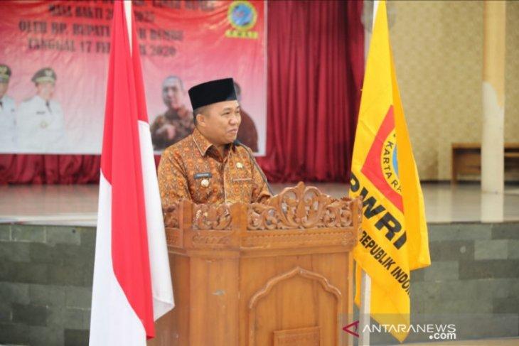 Sudian Noor kukuhkan Pengurus PWRI periode 2020-2025