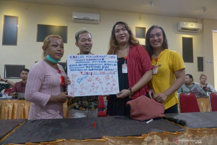 Komunitas LGBT Mataraman deklarasi tolak segala bentuk kekerasan seksual