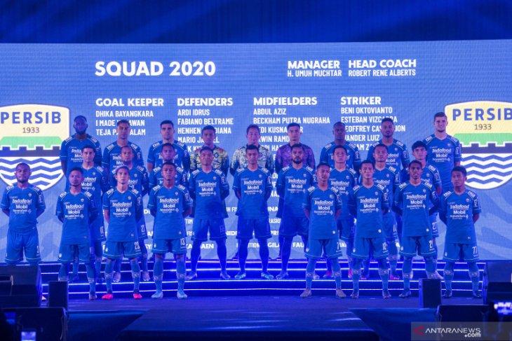 Peluncuran tim Persib Bandung untuk Liga 1 2020