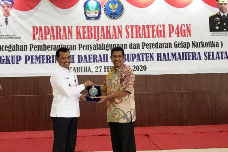 Puluhan pejabat Pemkab Halmahera Selatan tes urine