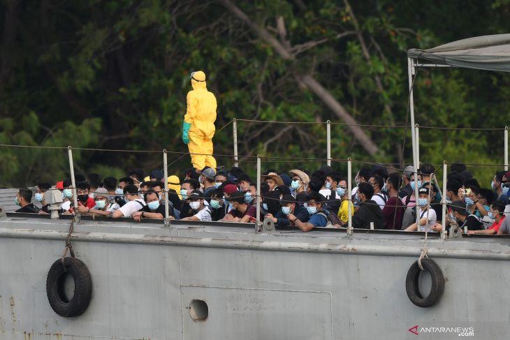 67 Indonesian crew members test negative for coronavirus