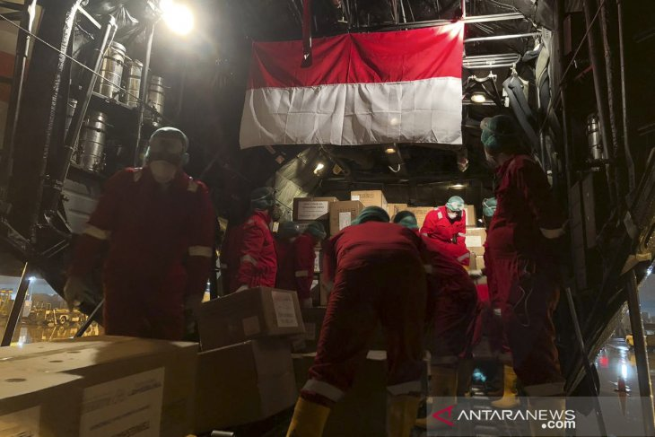Medical aid from China to arrive in Jakarta on Monday: TNI Chief