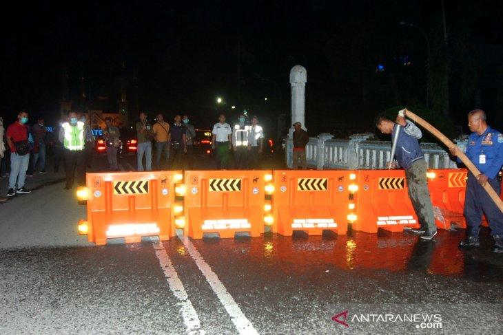 Lockdown lokal kota Tegal