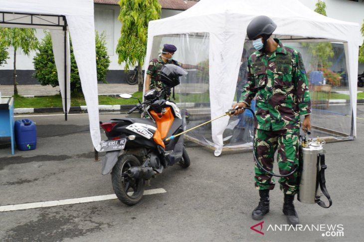 Lantamal VI Makassar siapkan ruangan khusus sterilisasi COVID-19