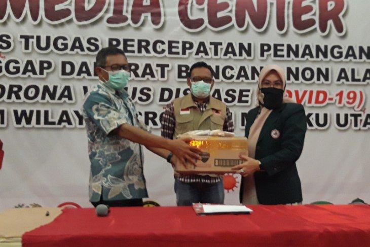 IDI Malut salurkan bantuan APD ke Gugus Tugas