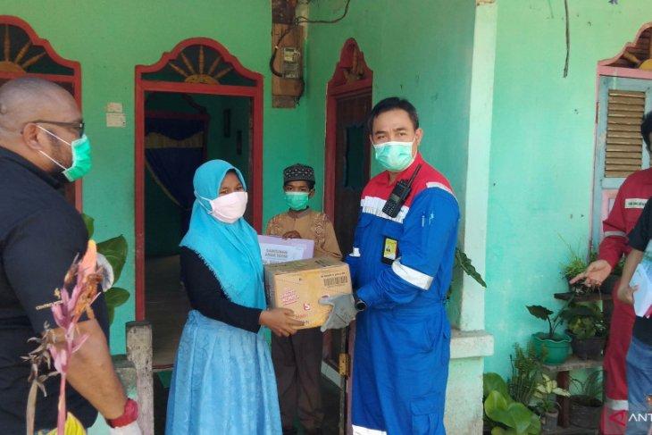 Pertamina RU VII berbagi kasih dengan masyarakat muslim Seget Kabupaten Sorong