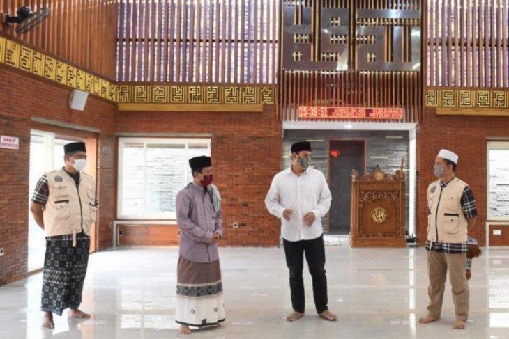 Wali Kota Kediri lakukan pengecekan tempat ibadah jelang era normal baru