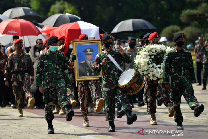Pemakaman Jenderal TNI (Purn) Pramono Edhie Wibowo