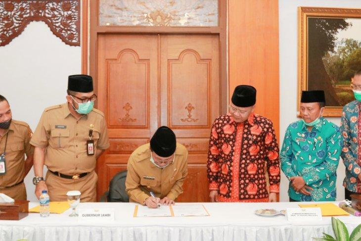 Gubernur Jambi  sambut baik Bengkulu terkait  penguatan konektivitas antarwilayah