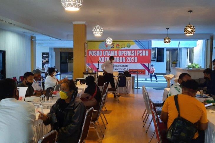 1.343 pelaku perjalanan urus surat keterangan keluar masuk Ambon