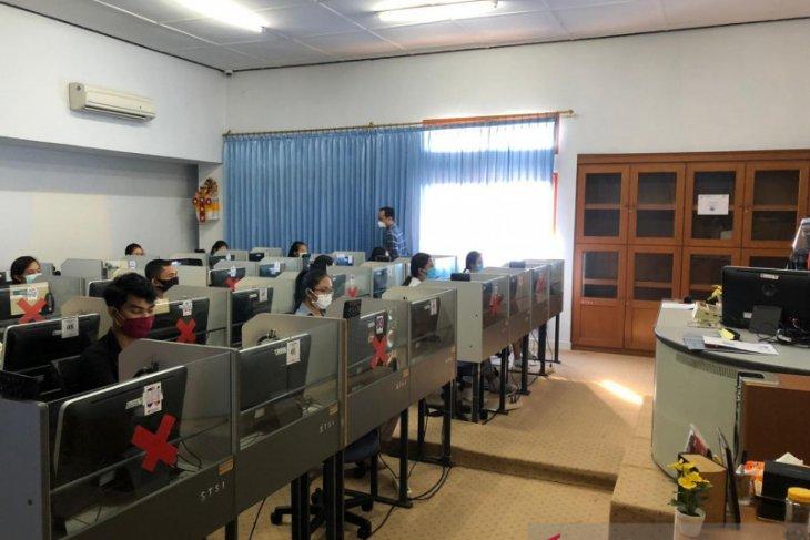 ISI Denpasar selenggarakan UTBK dengan protokol kesehatan ketat