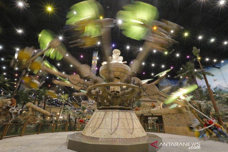 Taman hiburan Dream Island di Moskow dibuka kembali