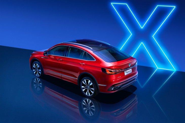 VW Tiguan X coupe mendarat di China 1