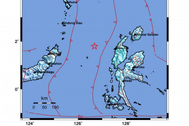 5.9-magnitude earthquake jolts Indonesia's West Halmahera district