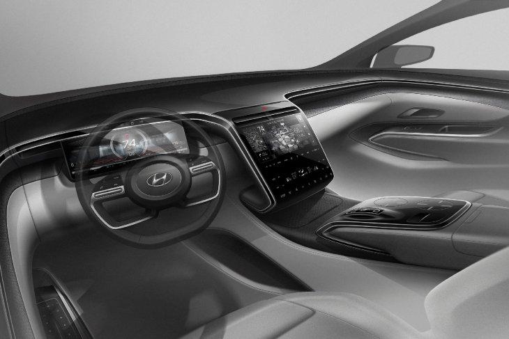 Hyundai Tucson baru dengan perombakan desain hadir bulan ini 1