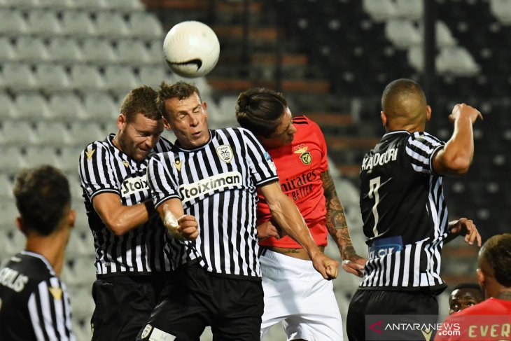 Kualifikasi Liga Champions: PAOK Thessaloniki kalahkan Benfica 2-1