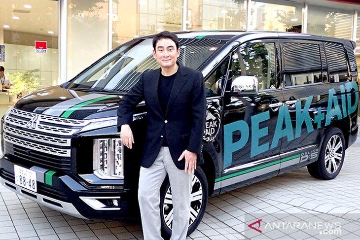 Harapan duta merek Mitsubishi pada 50 tahun MMC 1