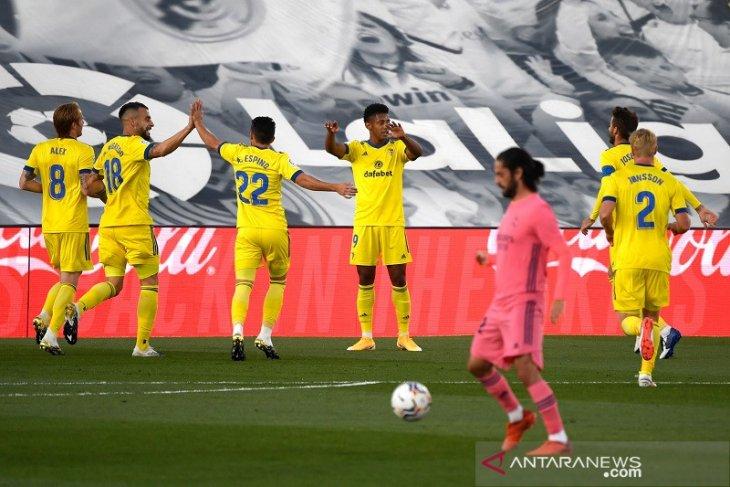 Real Madrid dipermalukan tim promosi Cadiz lewat satu gol
