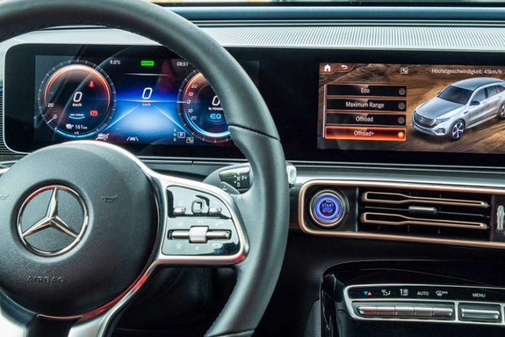 """Mercedes-Benz kenalkan mobil listrik """"off-road"""" EQC 2"""