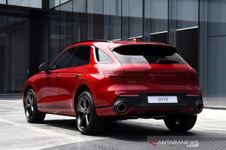Hyundai ungkap desain Genesis GV70 SUV 2
