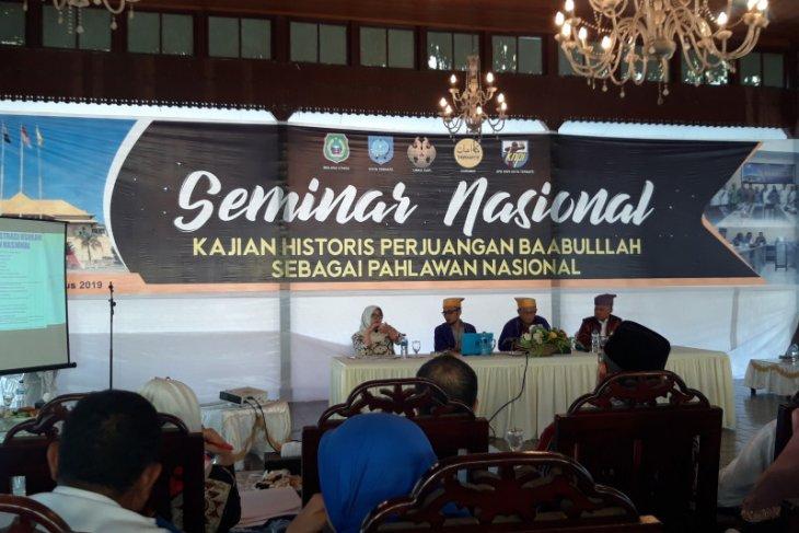 Pemprov Malut apresiasi Sultan Baabullah ditetapkan sebagai pahlawan nasional
