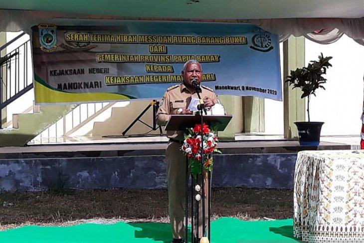 50 ribu pekerja akan terima bantuan tangan kasih Gubernur Papua Barat
