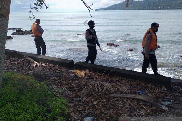 Brimob Polda Maluku patroli SAR antisipasi bencana alam di Pulau Ambon