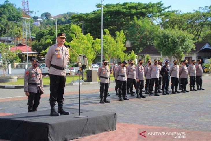 Kapolda Maluku: Ratusan personel siap amankan pilkada bebas COVID-19
