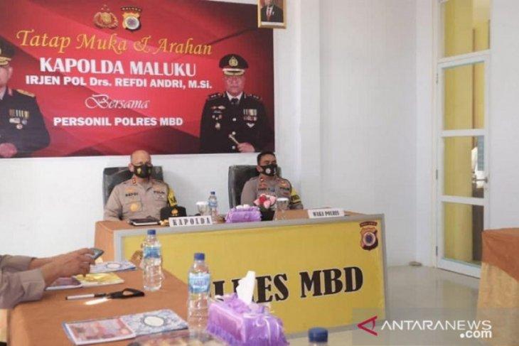Kapolda Maluku: Personel BKO amankan Pilkada jangan jadi beban karena sakit