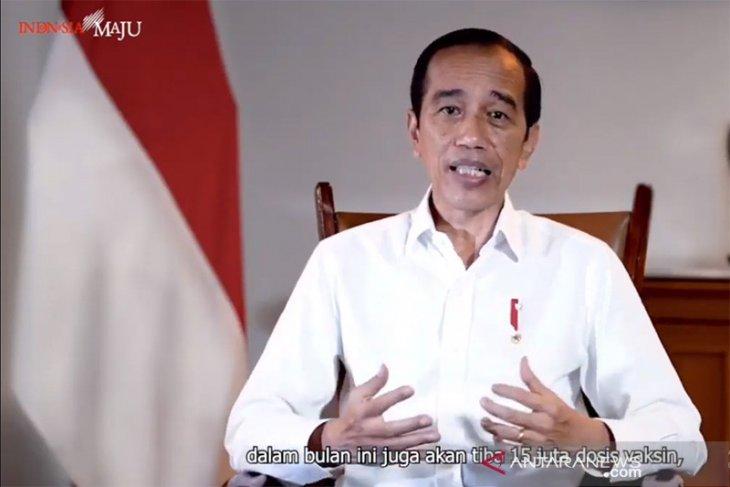Presiden Jokowi terima vaksinasi COVID-19