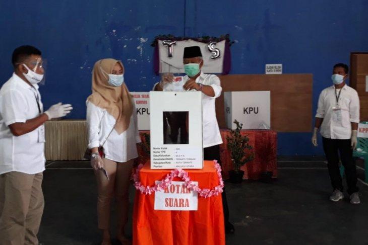 Wali kota: Suasana pencoblosan di Kota Ternate relatif aman