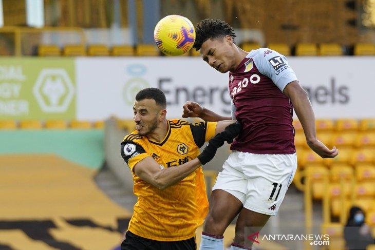 Liga Inggris: Villa kalahkan Wolverhampton 1-0