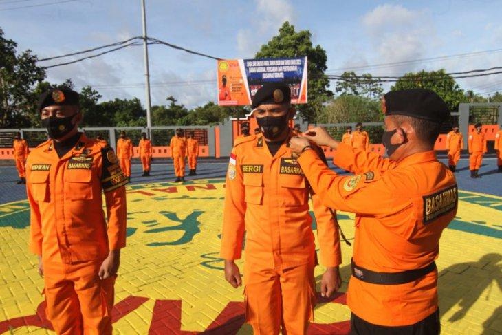 Basarnas Ternate siagakan personel jelang Natal dan Tahun Baru
