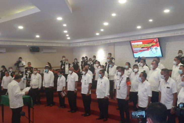 27 pejabat eselon dua dan tiga Pemkot Ambon dirotasi