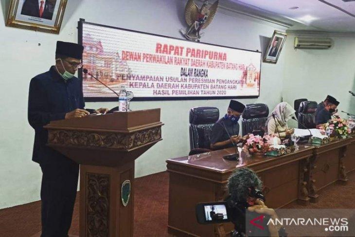 DPRD Ajukan Pelantikan Bupati Batanghari Terpilih