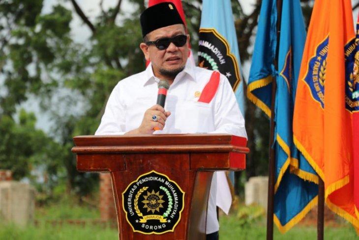 Ketua DPD RI berikan kuliah umum bagi mahasiswa Unimuda Sorong