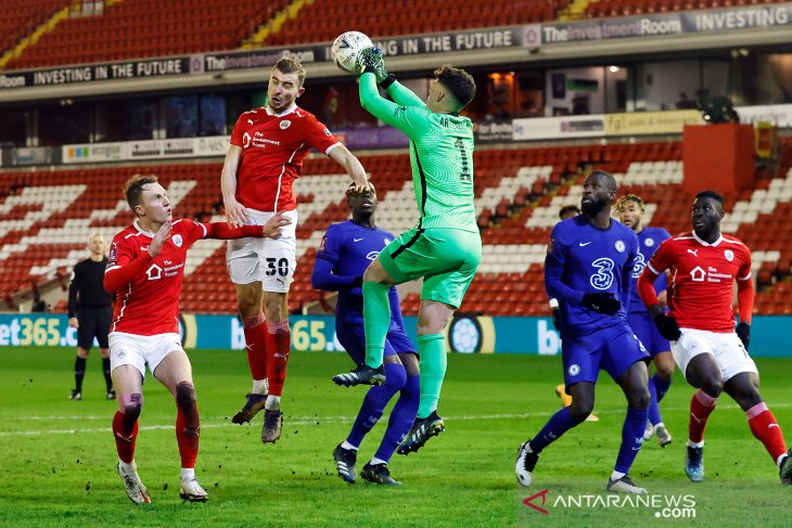 FA Cup: Chelsea kalahkan Barnsley 1-0