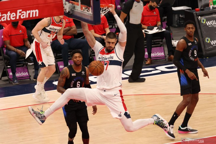 NBA: Knicks kalahkan Wizards 109 – 91