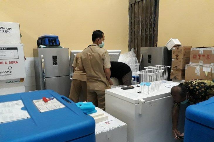 Sebanyak 2.450 vial vaksin COVID-19 tahap II tiba di Kediri