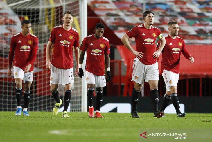 Liga Eropa: Manchester United bermain imbang dengan AC Milan 1-1