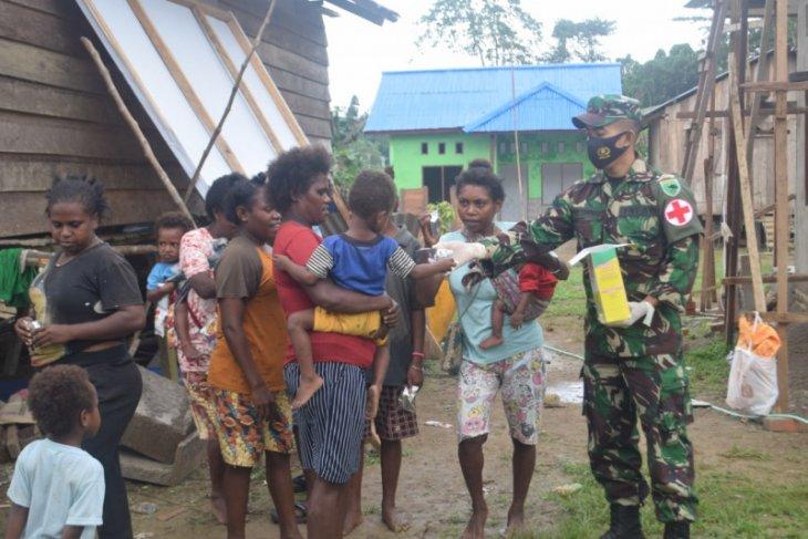 TNI AD sosialisasi pentingnya gizi balita di Provinsi Papua Barat