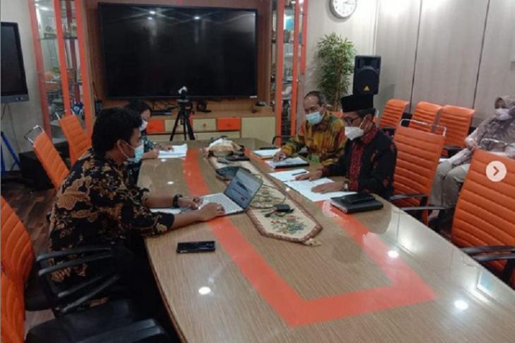 Wabup Bakhtiar Sambangi Kantor Kementerian Kelautan dan Perikanan RI
